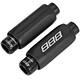 BBB LineAdjuster BCB-95 schakelkabel 4 mm, 2 stuks zwart